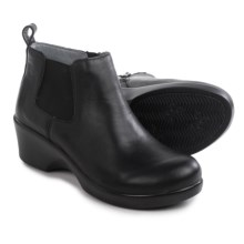 Alegria Ever Ankle Boots - Leather (For Women) in Black Nappa - Closeouts