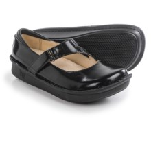 Alegria Jill Mary Jane Shoes - Leather (For Women) in Black Waxy - Closeouts
