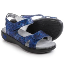Alegria Joy Sandals - Leather (For Women) in Blue Persuasian - Closeouts