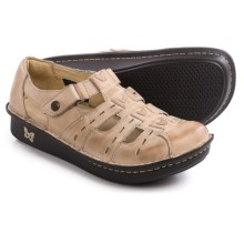 Alegria Pesca Shoes - Leather (For Women) in Almond - Closeouts