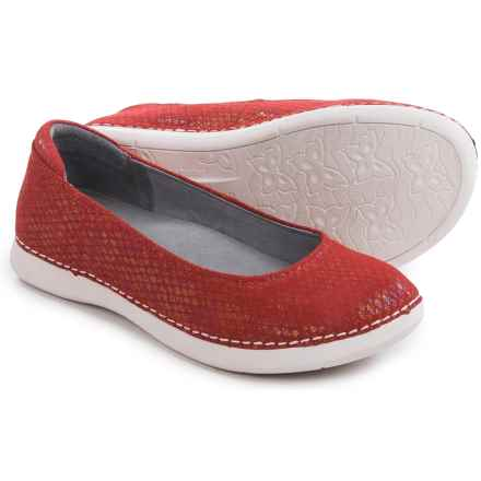 Alegria Petal Ballet Flats - Leather (For Women) in Cherry - Closeouts