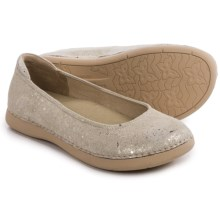 Alegria Petal Ballet Flats - Leather (For Women) in Gold Flake - Closeouts
