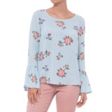 Alexander Jordan Floral Print Shirt - Long Sleeve (For Women)