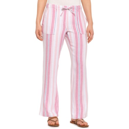 ffe81a295f8dd8 Alexander Jordan Multi-Pink Striped Drawstring Pants (For Women) in  Pink Multi