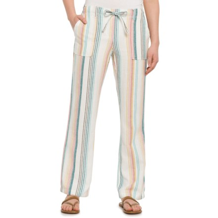 af8a40d06eed36 Alexander Jordan Multi-Rainbow Striped Drawstring Pants (For Women) in  Multi Rainbow -