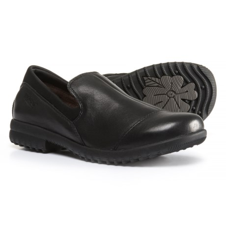 Image of Alexandria Leather Shoes - Waterproof, Slip-Ons (For Women)