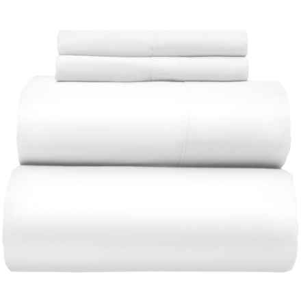 Alfred Sung Hotel Collection Sheet Set - King, 300 TC in White - Closeouts