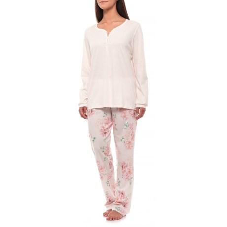 Image of Algarve Pajamas - Swiss Supima(R) Cotton, Long Sleeve (For Women)
