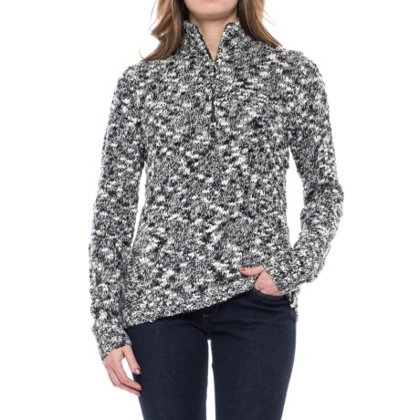 Image of Alice Springs Sweater - Zip Neck (For Women)