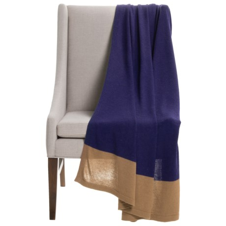 Alicia Adams Alpaca Band Throw Blanket - Baby Alpaca ...