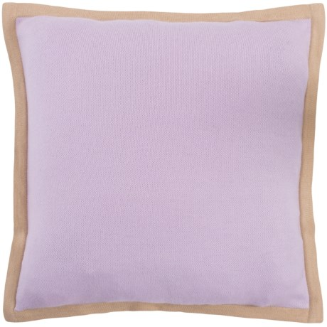 "Alicia Adams Alpaca Pillow Sham - 20x20"" in Lavender/Beige"