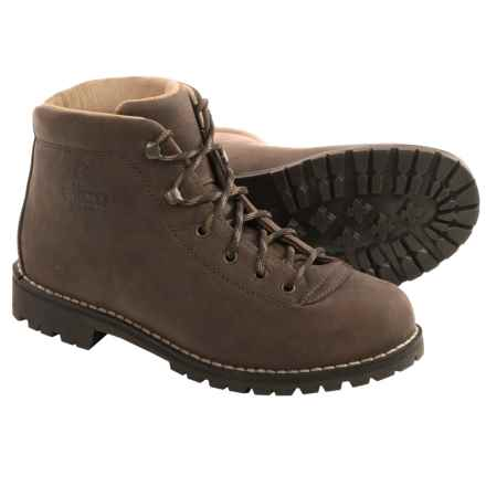 Alico Belluno Hiking Boots - Leather (For Men) in Brown/Greased Nubuck - Closeouts