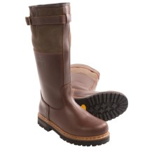 Alico Husky Leather Boots - Shearling Lining (For Men) in Brown - Closeouts