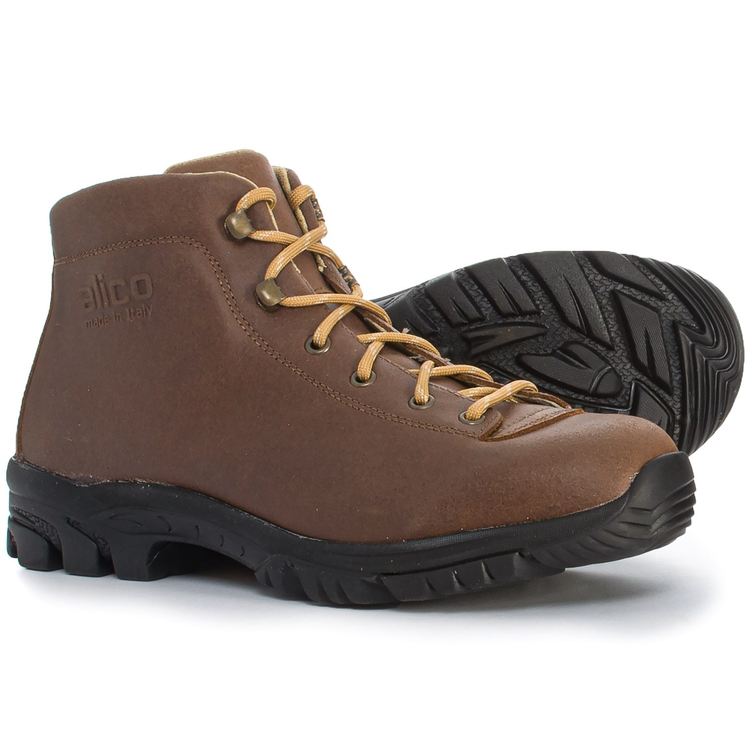 b79eb01bc11 Alico Made in Italy Belluno Hiking Boots - Perwanger® Leather (Men)
