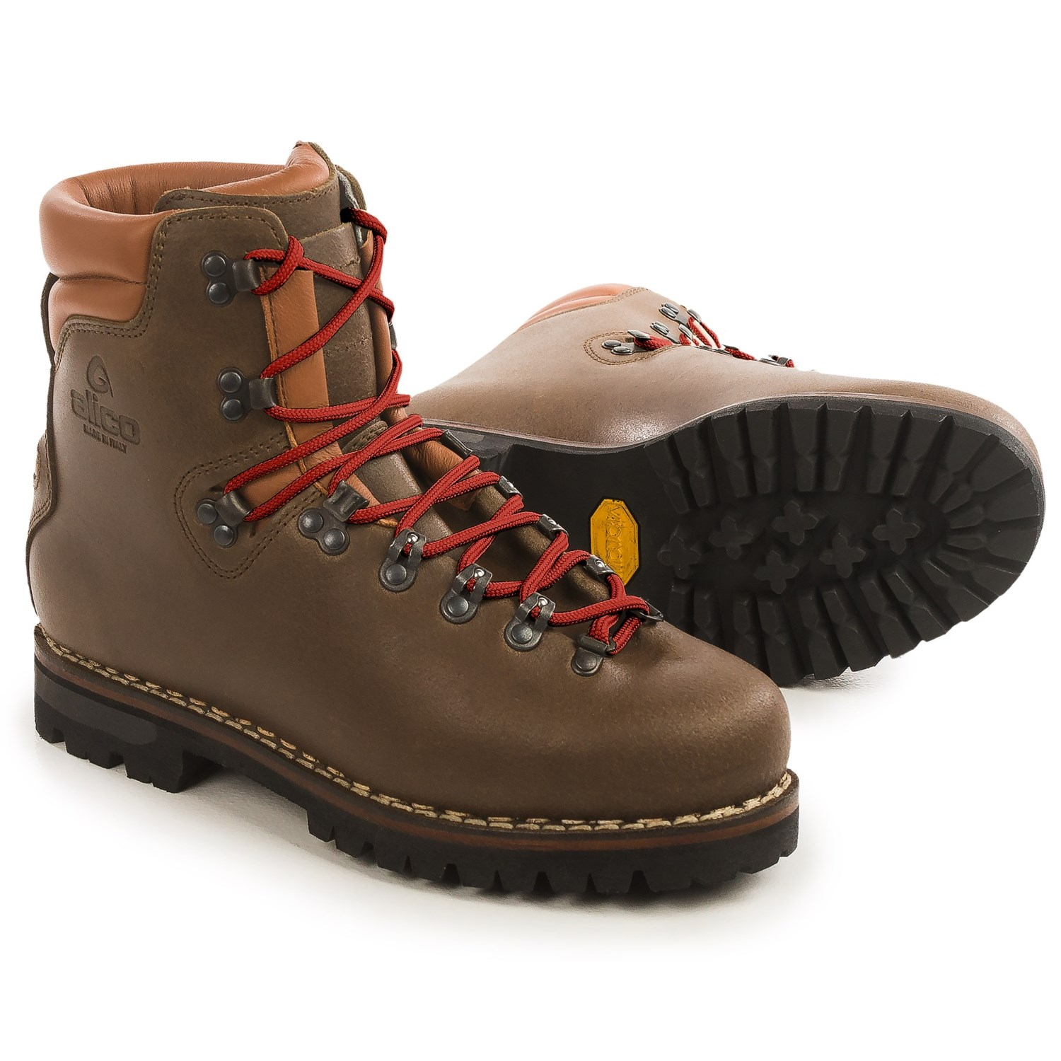 3af37a211b6f Alico Made in Italy New Guide Mountaineering Boots - Leather (For Men) in  Brown