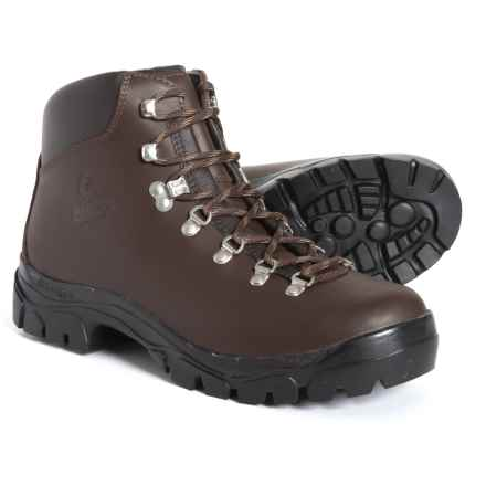 Alico Made In Italy Peak Hiking Boots (For Men) in Brown Full Grain - Closeouts