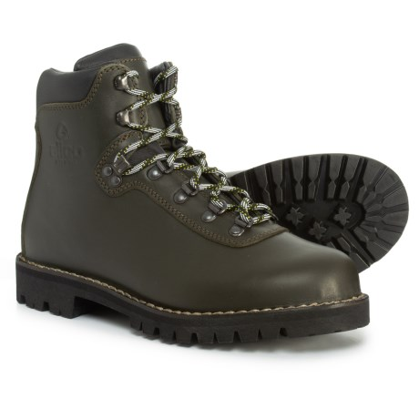 new product 25136 3fa9f Alico Made in Italy Summit Hiking Boots - Leather (For Men) in Dark Green