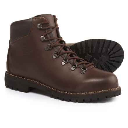 Alico Made in Italy Tahoe Hiking Boots - Leather (For Men) in Brown Full Grain - Closeouts