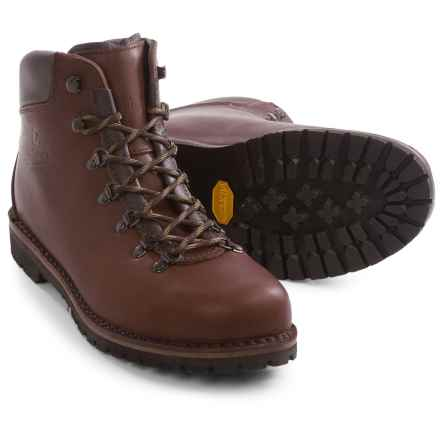 Alico Made in Italy Tahoe Hiking Boots - Leather (For Men) in Dark Brown - Closeouts