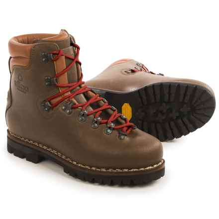 Alico New Guide Mountaineering Boots - Leather (For Men) in Brown - Closeouts