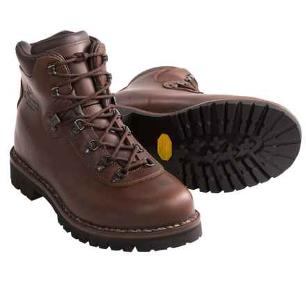Alico Summit Hiking Boots - Leather (For Men) in Brown - Closeouts