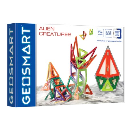 Image of Alien Creatures Geomagnetic Toy - 40-Piece