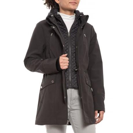 Image of Aline Soft Shell Rain Jacket (For Women)