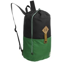 Alite Designs Battery Drawstring Backpack in Pioneer Green - Closeouts