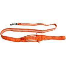 Alite Designs Boa Lite Dog Leash in Jupiter Orange - Closeouts