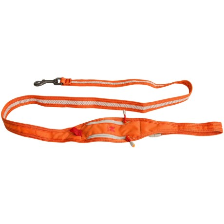 Alite Designs Boa Lite Dog Leash in Jupiter Orange