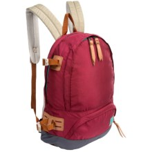 Alite Designs Kincaid Backpack - Leather Bottom in Richmond Red - Closeouts