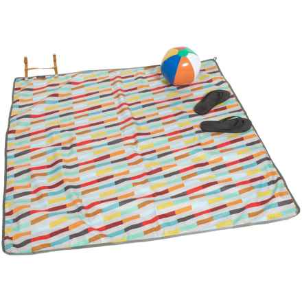 Alite Designs Meadow Mat Picnic Blanket in Ace Multi-Stripe - Closeouts