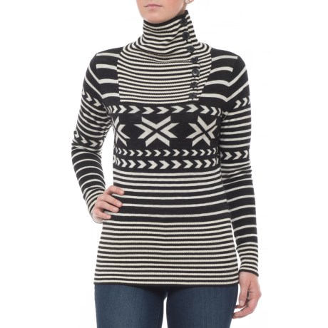 Image of All About It Sweater - Button Neck (For Women)