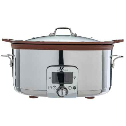Slow Cooker - 7 qt. in Bronze/Stainless Steel