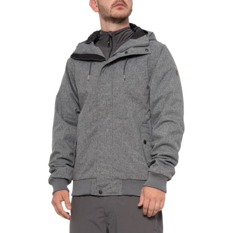 All Day Jacket - Waterproof (For Men) - BLACK HEATHER (S )