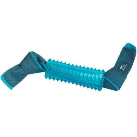 all for paws outdoor dog ballistic tpr stick dog toy in bluegrey closeouts