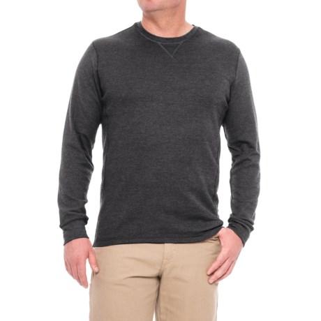 All Pro Crew Neck Work Shirt - Long Sleeve (For Men) in Gray