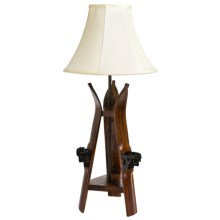 All Resort Furnishings Ski Table Lamp in See Photo - Closeouts