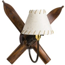 All Resort Furnishings Ski Wall Sconce in See Photo - Closeouts