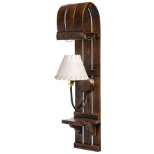 All Resort Furnishings Toboggan Sconce in See Photo - Closeouts