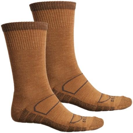 All-Season Work Socks - 2-Pack, Merino Wool, Crew (For Men) - DUCK (L ) thumbnail