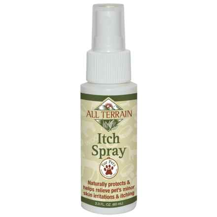 All Terrain Pet Itch Spray - 2 fl.oz. in See Photo - Closeouts