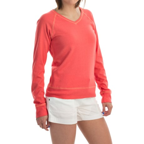allen allen Raglan Shirt Long Sleeve (For Women)