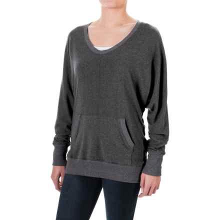 allen allen Two-Pocket Sweater (For Women) in Deep Grey - Closeouts