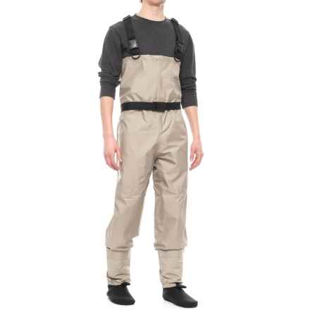 Allen Co. Antero Breathable Stockingfoot Chest Waders (For Men) in Grey - Closeouts
