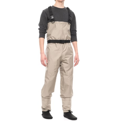 Allen Co. Antero Breathable Stockingfoot Chest Waders (For Men) in Grey