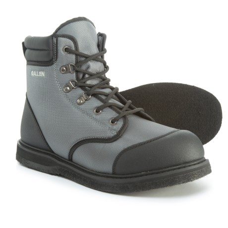 Allen Co. Antero Wading Boots - Felt Sole (For Men) in Gray