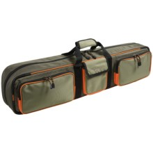 Allen Co. Bemidji Rod and Gear Bag in Green/Orange - Closeouts