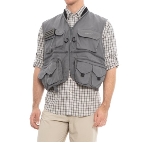 Allen Co. Big Thompson Fishing Vest in Gray