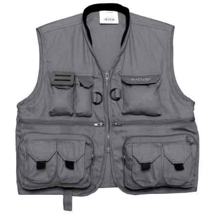 Allen Co. Big Thompson Fishing Vest - Junior in Gray - Closeouts